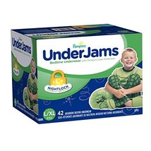 Baby Pampers Underjams Bedtime Underwear BoysSize LargeXLarge Diapers 42... - $36.32