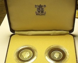 Extremely Rare Dominician Republic 2 Piece 1983 Proof Set~100 Minted~Fre... - $351.87