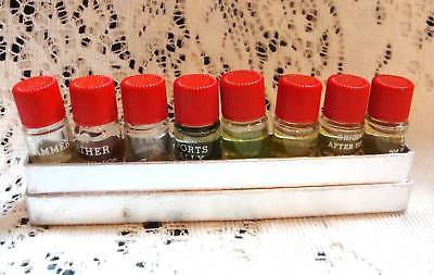 Avon Mens Samples Windjammer, Leather, Wild Country, After Shave Spicy, Tribute