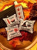 Halloween Whimsies cross stitch chart Scissor Tail Designs  - $8.10