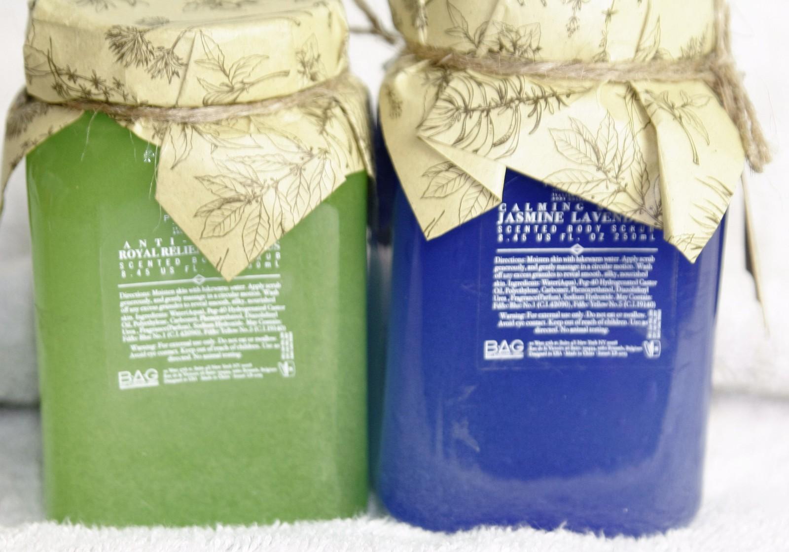 LA BELLA Provincia Aromatherapy Body Scrub Eucalyptus OR  Jasmine Lavender
