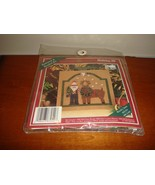 Mill Hill Woodsy Santa Buttoned & Beaded Cross Stitch Kit - $15.49