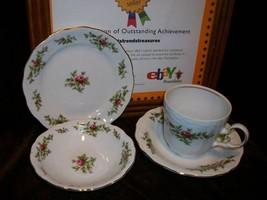 Johann Haviland Traditions Fine China Cup & Saucer Dessert Bowl Bread Plate Rose - $14.84