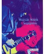 ORIGINAL Vintage Circa 1970s Altec Musical Sound Equipment Catalog - $27.86