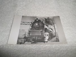 1950-56 RPPC Postcard Reading Locomotive #2124 Under Steam Kodak Stampbox - $10.00