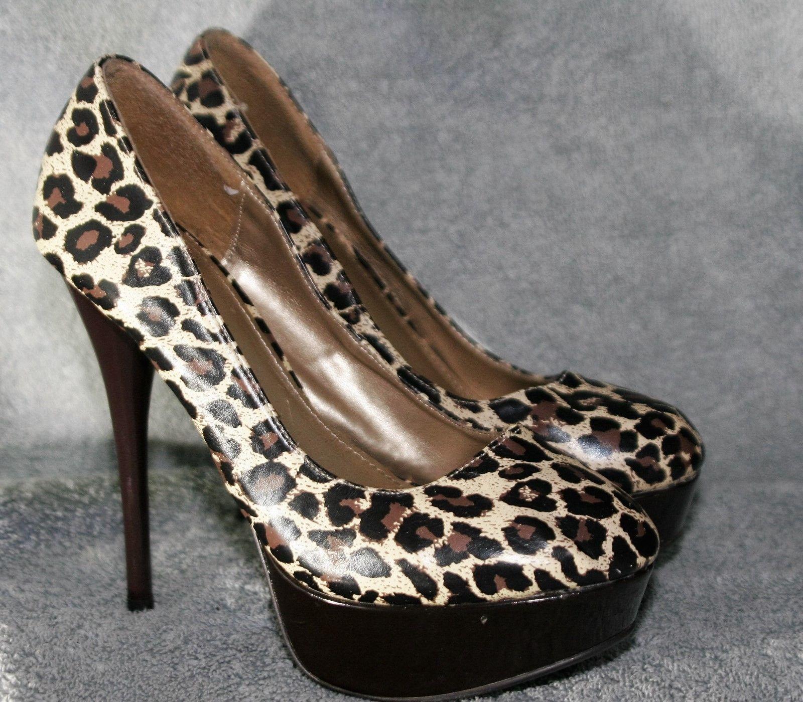 f36c3451096 Qupid Leopard Cheatah Print Platform Heels and 50 similar items. 1160 1