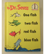 Dr. Seuss One Fish Two Fish Red Fish Blue Fish Book - $9.00