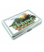 Spring Break D8 Silver Metal Cigarette Case RFID Protection Wallet - $11.83