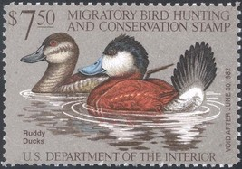 RW48, Ruddy Ducks Federal Duck Stamp VF OG NH - Stuart Katz - $9.00