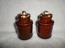 Pottery Figural McCOY MILK CAN Salt & Peppers 1... - $11.88