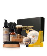 9Pcs Beard Care Kit Men Beard Shaping Tool Template Grooming Ship From A... - $26.77