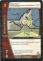 2004 Upper Deck Marvel VS System #MSM020 Rhino - $0.50