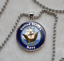 United States Navy Pendant Necklace - $14.00+