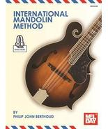 International Mandolin Method/Book/Online Audio Set/Beginner-Intermediate - $19.99