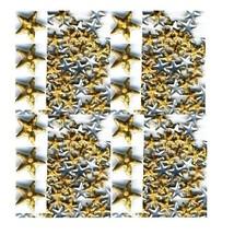 Hologram Nailheads Gold Stars 5mm Hotfix  1gr - $3.71