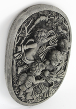 Cherubs in the Garden Concrete Wall Plaque  - $59.00
