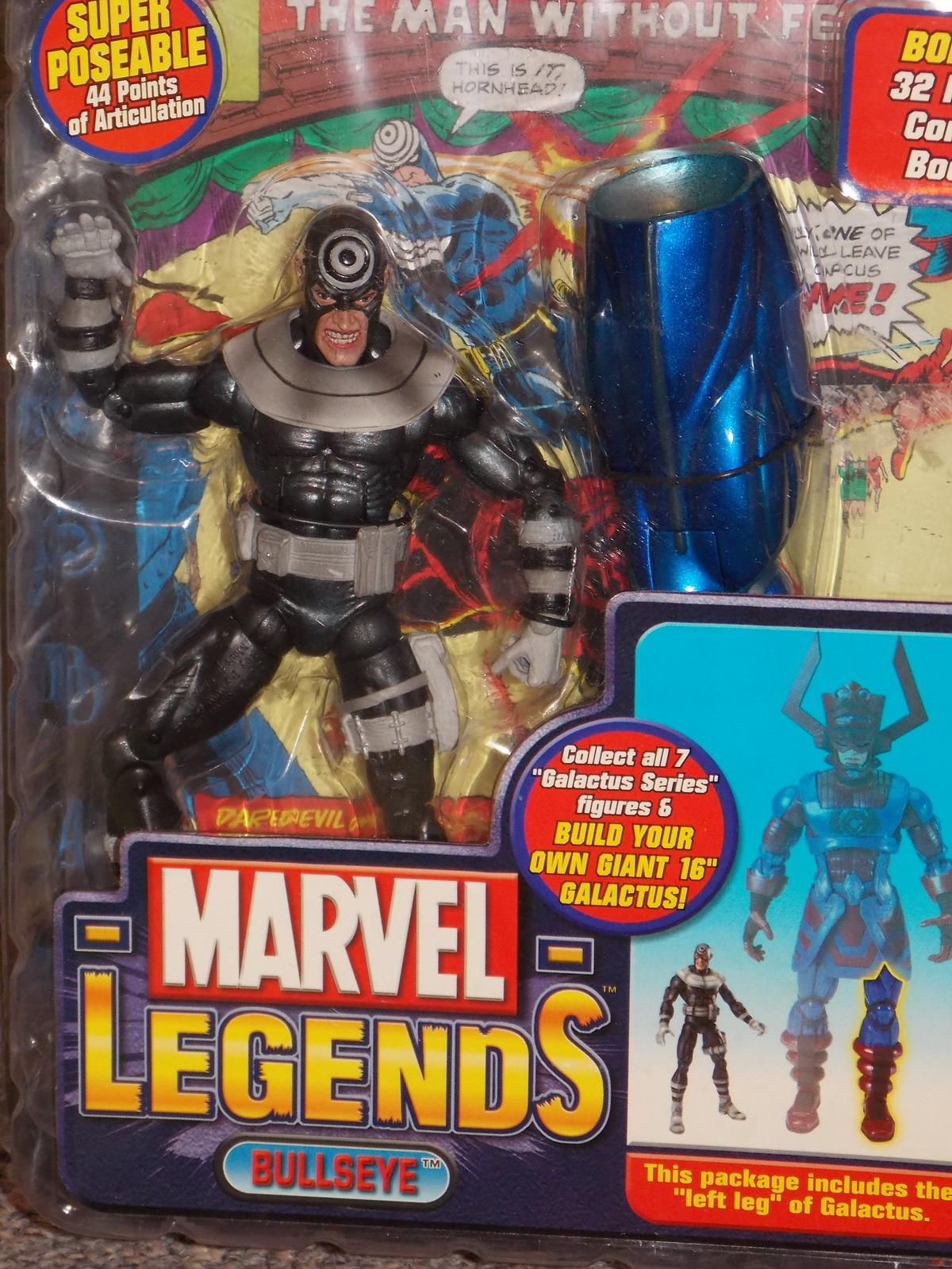 2005 Marvel Legends Bullseye Figure New In The Package