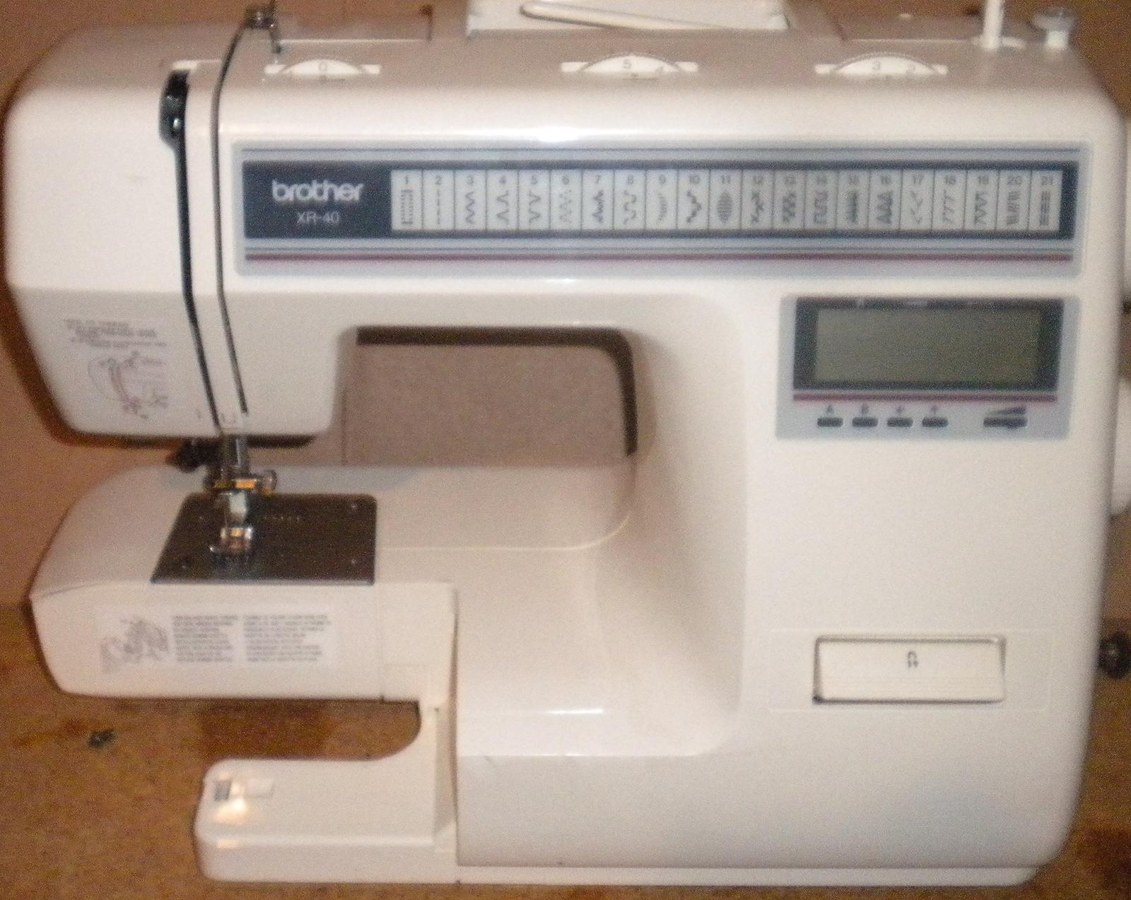 xr 40 sewing machine