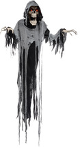 Hanging Reaper 6 Ft Animated Talking Halloween Decoration Prop Haunted H... - €35,24 EUR