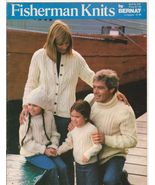 Free Ship Knit Fisherman Knits Vintage Knitting... - $8.99