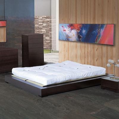BH Zen Queen Size Platform Bedroom Set 5pc. Espresso Modern Contemporary Style