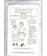 Elizabeth Stewart Clark pattern for boys' frocks, tunics, and trousers 1... - $19.80