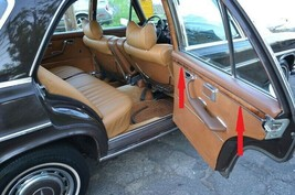Mercedes W108 280SE Short Chasis Ebony Interior Slim Wood 4 Pcs Door Trims - $373.91