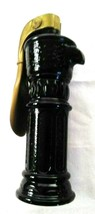 "Vintage Well Head Avon Bottle Dark Brown Silver Tone Pump 8"" Tall - $11.76"