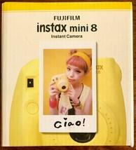 Fujifilm Instax P10GLB3080A Mini 8 Yellow + Strap and Battery - $61.37