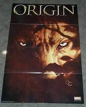 36 x 24 X-Men Wolverine Origin 4 Marvel Comics comic book promo poster: 3 x 2 ft - $29.69