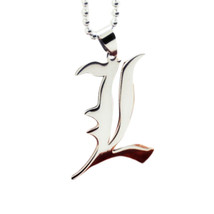 Sterling Silver Death Note Necklace Pendant for Women or Men - $42.00