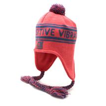 Rastaclat Red Navy Yuri Tassel Tassle Beanie Positive Vibrations Winter Hat