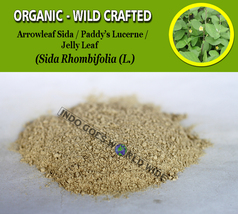 POWDER Arrowleaf Sida Roots Paddy's Lucerne Indian Hemp Sida Rhombifolia... - $7.85+