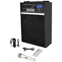 "Pyle Pro 300-watt Bluetooth 6.5"" Portable Pa Speaker System PYLPWMAB250 - $92.85"