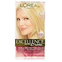 L'oreal Paris Excellence Creme Triple Protection Color, Natural Lightest Blonde  - $19.79