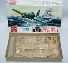 Vintage SUPERMODEL 1:72 REGGIANE RE2000 FALCO I Fighter Jet Model Kit 10... - $17.00
