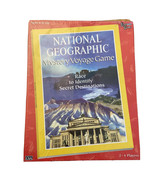 National Geographic Mystery Voyage Board Game 2-4 Players NEW SEALED 1997 - $29.69
