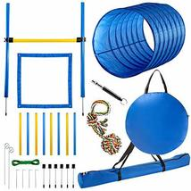 CHEERING PET Agility Training Equipment for Dogs, 28 Piece Dog Obstacle ... - $79.99