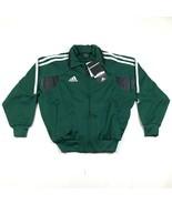 Nike Youth Boys S Green White Warm Up Track Jacket Striped Soccer Dri Fi... - £21.99 GBP