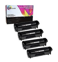 4 Q2612A 12A Toner Cartridge Compatible For HP LaserJet 1022 3015 3055 p... - $30.97