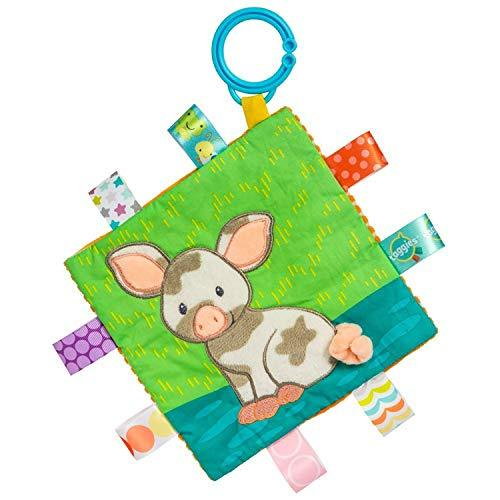 Mary Meyer Taggies Crinkle Me Baby Toy, Patches Pig - $13.85