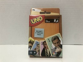 NEW UNO THE OFFICE Card Game Mattel  - $11.64