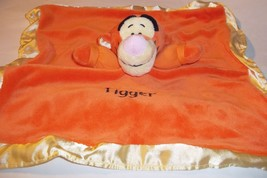 Disney Tigger Lovey Crinkle Ears Rattle Plush Cotton Velour - $24.74