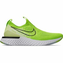 Women's Nike Epic Phantom React Flyknit Running Shoes Electric Green/Bla... - $103.27