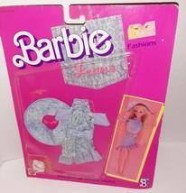 Barbie 1988 Designer Jeans Fashions Outfit Clothes Denim Blues Dress Set NEW - $13.37