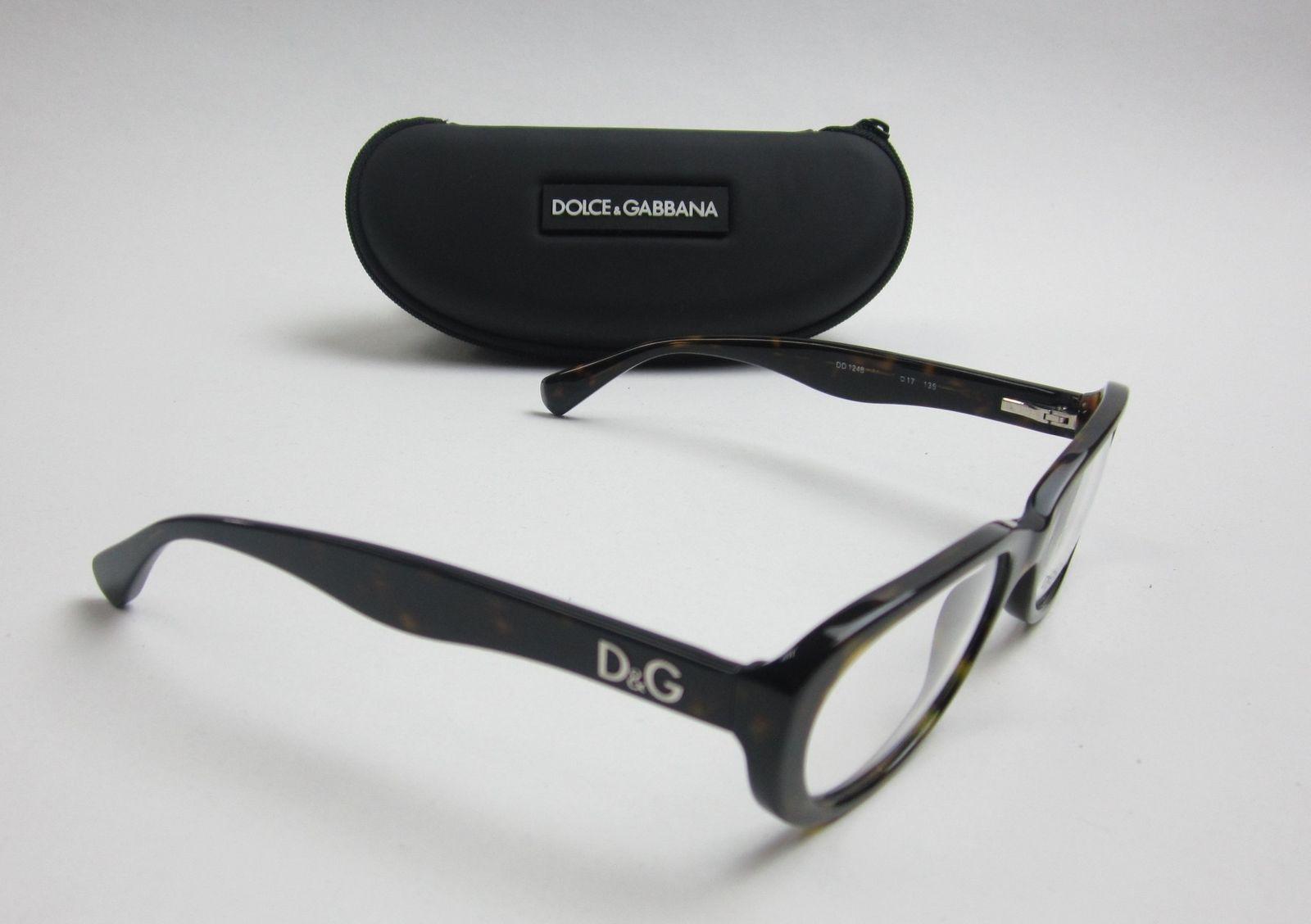 af84af7308 AUTHENTIC! Dolce   Gabbana DD1248 Eyeglasses and 50 similar items