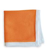 Frederick Thomas PUNTO pañuelo cuadrado de bolsillo in Peach ft3162 - $22.49