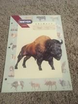 Breyer 1995 DEALERS CATALOG Large Format Animal Catalog Insert Rare B - $16.82