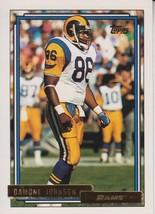 Damone Johnson 1992 Topps Gold Card #82 - $0.99