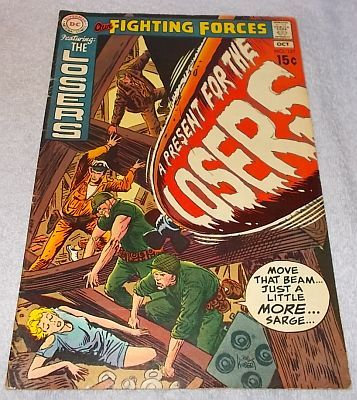 Primary image for DC Comic Book Our Fighting Forces The Losers No 127 1970